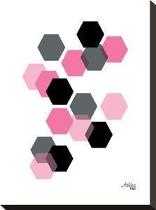 Geometric Hexagon by Ashlee Rae