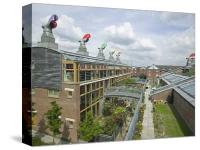 Bedzed the United Kingdom's Largest Carbon Neutral Housing Complex in Beddington, London