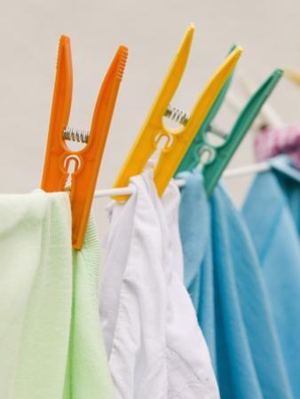 Clothes Drying on a Line by Ashley Cooper