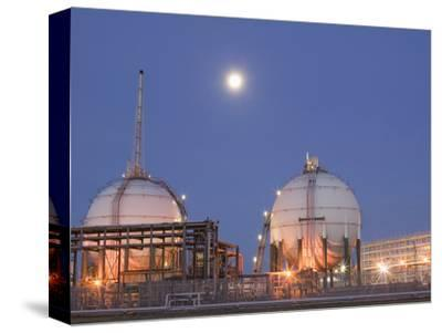 Full Moon over a Petrochemical Plant, Teeside, United Kingdom