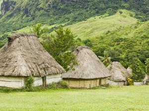 Navala Village in the Fijian Highlands by Ashley Cooper