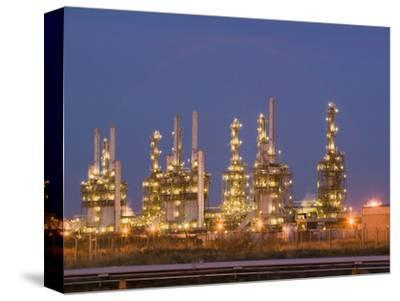 Petrochemical Plant at Night, Teeside, United Kingdom