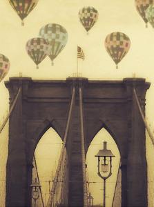 Bridge Balloons Vert by Ashley Davis