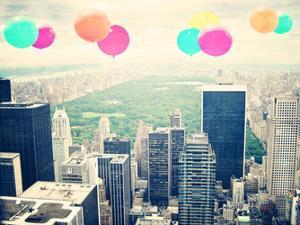 Central Park Balloons by Ashley Davis