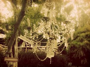 Dreamy Chandelier 1 by Ashley Davis