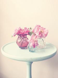 Flower Table 3 by Ashley Davis