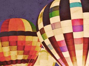 Three Hot Air Balloons by Ashley Davis