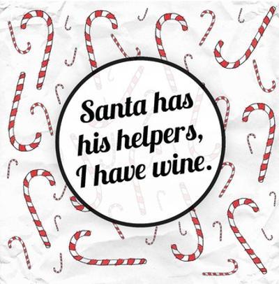 Santa's Helpers - Wine by Ashley Hutchins
