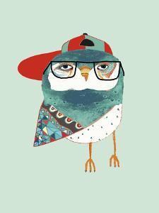 Cool Owl by Ashley Percival