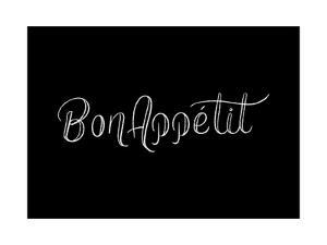 Bon Appetit by Ashley Santoro