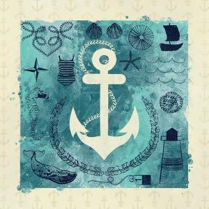Anchor in Love I by Ashley Sta Teresa