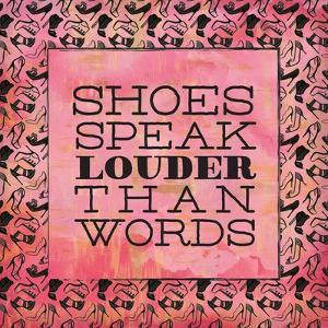 Shoes Speak by Ashley Sta Teresa