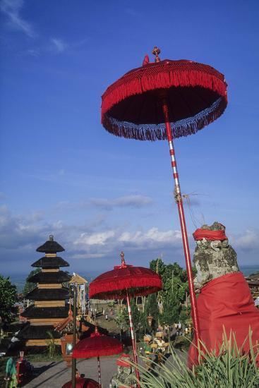 Asia, Indonesia, Bali, Pura Besakih. the 'Mother Temple.'-John & Lisa Merrill-Photographic Print
