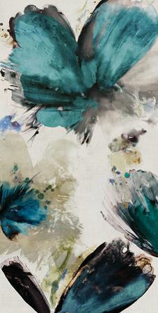Blue Ribbon Blooms I
