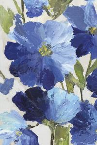 Cobalt Poppies II by Asia Jensen