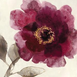 Crimson Peony I by Asia Jensen