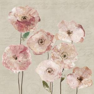 Delicate Pink Flowers by Asia Jensen