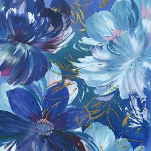 Midnight Floral II by Asia Jensen