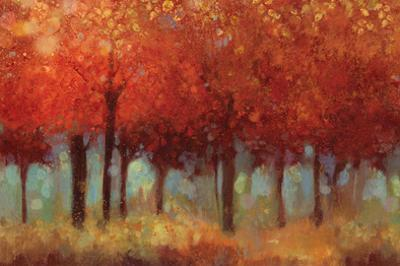 Red Forest by Asia Jensen