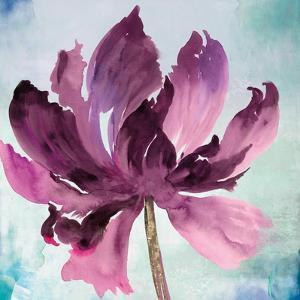 Tye Dye Floral I by Asia Jensen