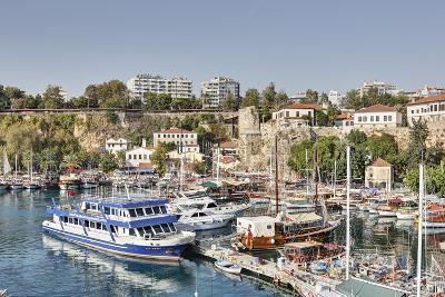 Asia, Turkey, Antalya, Harbour, Ships-Harald Schšn-Photographic Print