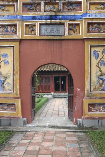 Asia, Vietnam. Arched Entrance Gate, the Citadel, Hue, Thua Thien?Hue-Kevin Oke-Photographic Print