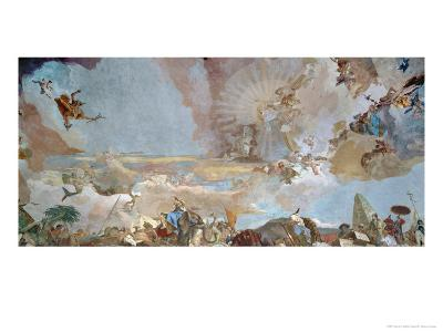 Asia-Giovanni Battista Tiepolo-Giclee Print