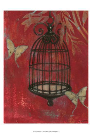 Asian Bird Cage I-Norman Wyatt Jr^-Art Print