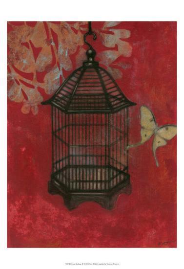 Asian Bird Cage II-Norman Wyatt Jr^-Art Print