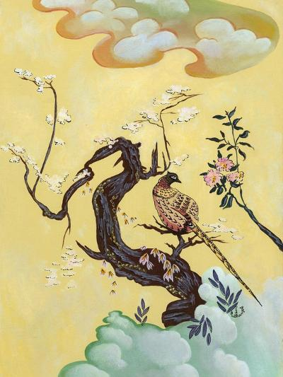 Asian Bird Illustration III-Judy Mastrangelo-Art Print