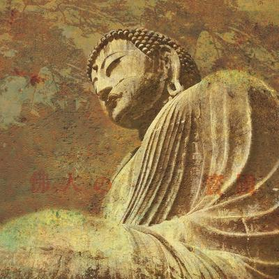 Asian Buddha II-Hugo Wild-Art Print