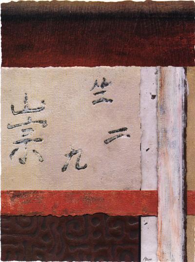 Asian Collage III-Mauro-Art Print