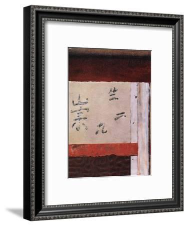Asian Collage III-Mauro-Framed Art Print