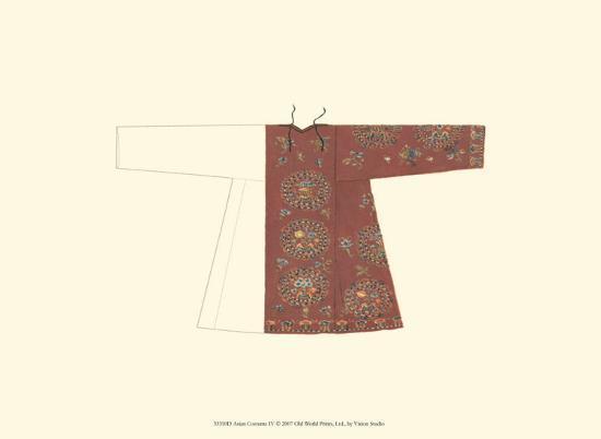 Asian Costume IV--Art Print