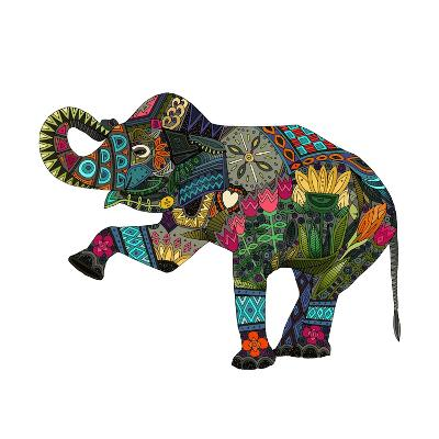 Asian Elephant-Sharon Turner-Art Print