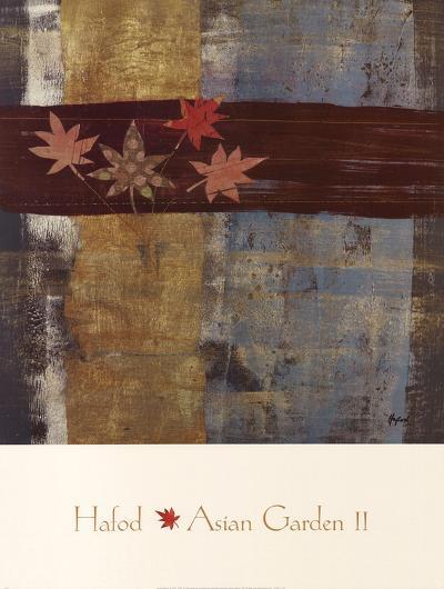 Asian Garden Abstract II-Danielle Hafod-Art Print