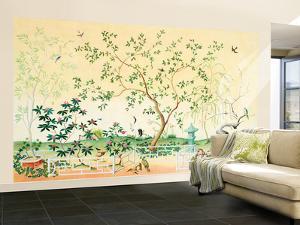 Asian Garden Large Huge Mural Art Print Poster