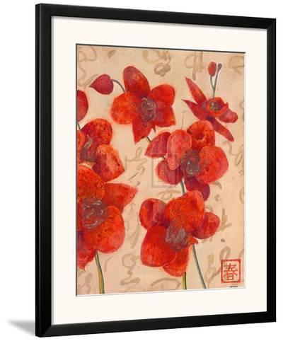 Asian Orchid I-Jennifer Hollack-Framed Art Print
