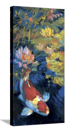 Asian Serenity I-Leif Ostlund-Stretched Canvas Print