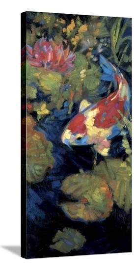 Asian Serenity II-Leif Ostlund-Stretched Canvas Print