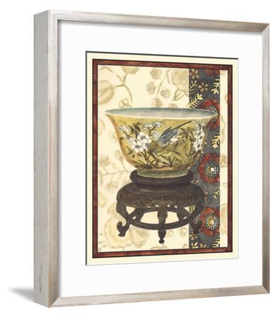 Asian Tapestry IV--Framed Giclee Print