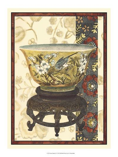Asian Tapestry IV-Vision Studio-Art Print