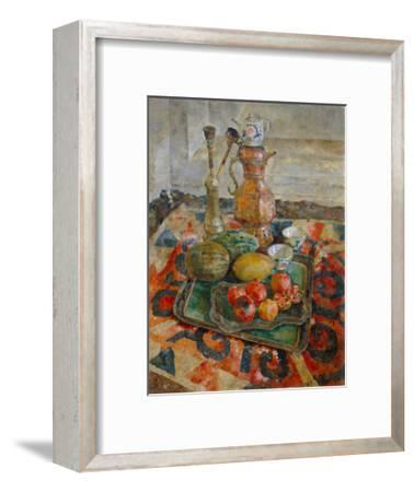 Asian Tea, 1926-Vasili Vasilyevich Rozhdestvensky-Framed Giclee Print