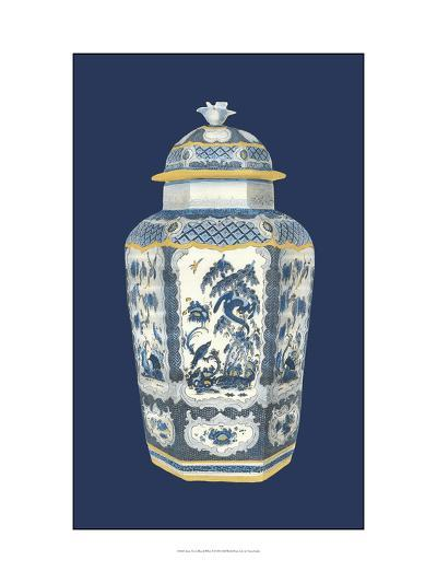 Asian Urn in Blue and White II-Vision Studio-Art Print
