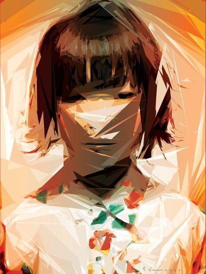 Asian Woman-Enrico Varrasso-Art Print