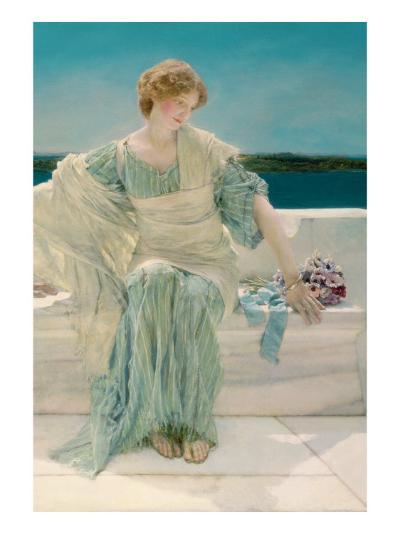 Ask Me No More, 1906-Sir Lawrence Alma-Tadema-Giclee Print
