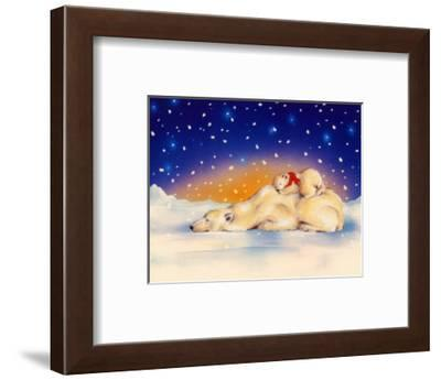 Asleep on Top-Makiko-Framed Art Print