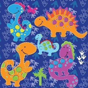 Dinos before Time by Asmaa' Murad