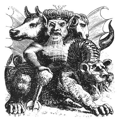 Asmodeus--Giclee Print