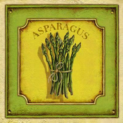 Asparagus-Daphne Brissonnet-Art Print
